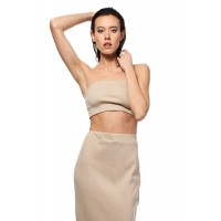 Top Damski Model BW014 Beige