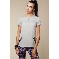 Bluzka Model ABK0027 Grey