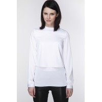 Bluzka Model ABK0054 White