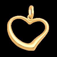 Przywieszka złota serduszko 1,60 g