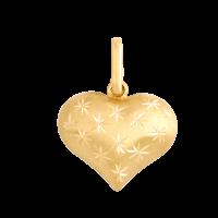 Przywieszka złota serduszko 17467