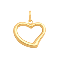 Przywieszka złota serduszko 1,10 g