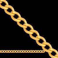Łańcuszek złoty dmuchany pancerka 0,90 g